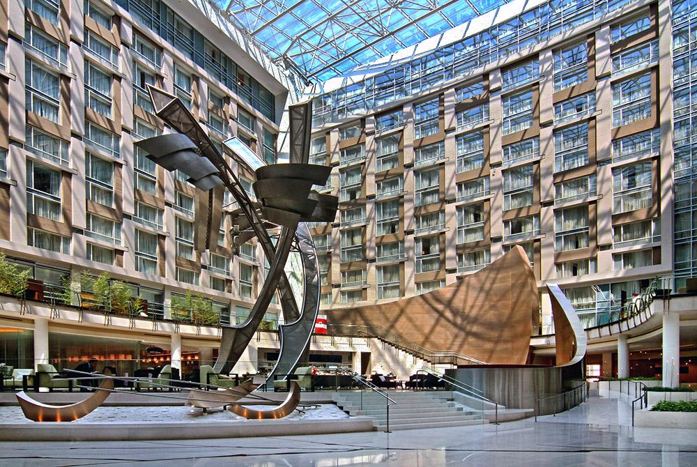 Marriott Marquis Hotel Atrium